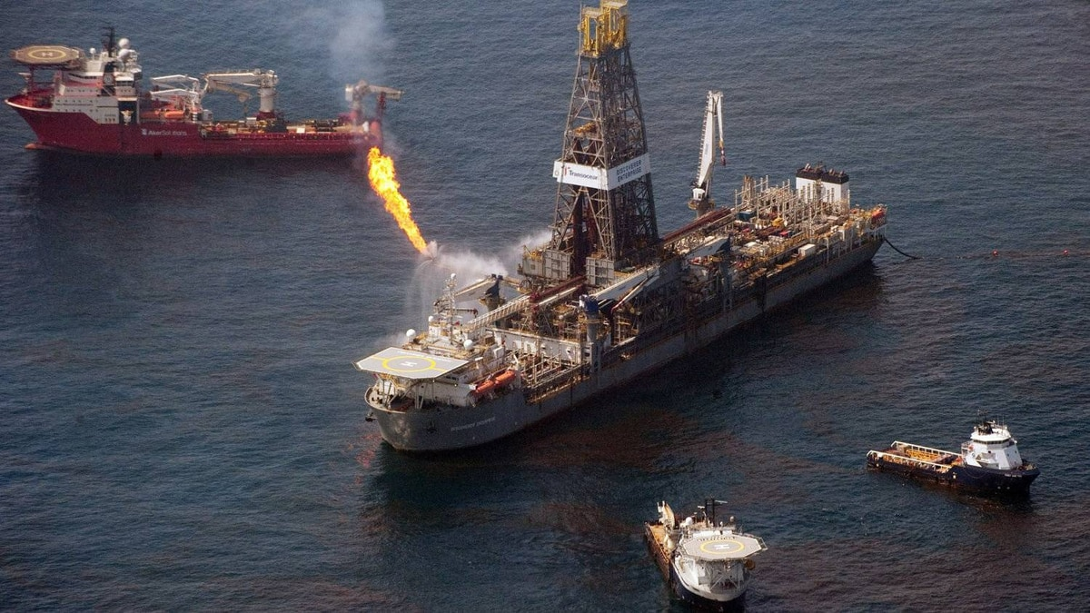 The Transocean Discoverer Enterprise drill ship collects oil from over the site of the BP Deepwater Horizon oil well. There are a range of environmental and social issues that directors should consider to ensure their companies become 'embracers' – those that successfully balance long-term vision with projects offering concrete wins in the near term.