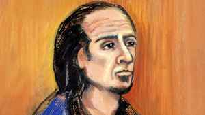Sayfildin Tahir Sharif appears in court in Edmonton, Thursday, Jan.20, 2011 in this artist's sketch. The lawyer for Sharif, a Canadian man suspected of supporting a terrorist group, says his client will fight extradition to the United States.
