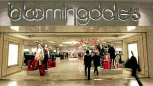 Shoppers enter Bloomingdale's at the Mall of America on Wednesday, Jan. 4, 2012 in Bloomington, Minn.