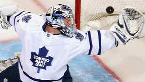 Toronto goaltender James Reimer #34 has given Maple Leafs fans renewed hope. (Photo by Christian Petersen/Getty Images)