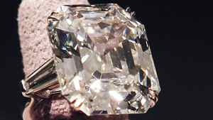 The Elizabeth Taylor Diamond, a 33.19-carat gift to the actress from Richard Burton, sold for more than $8.8-million at a Christie's auction in New York on Dec. 13, 2011.