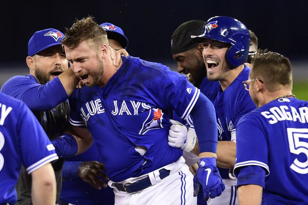 Blue Jays improve to 5-0 this year against A's