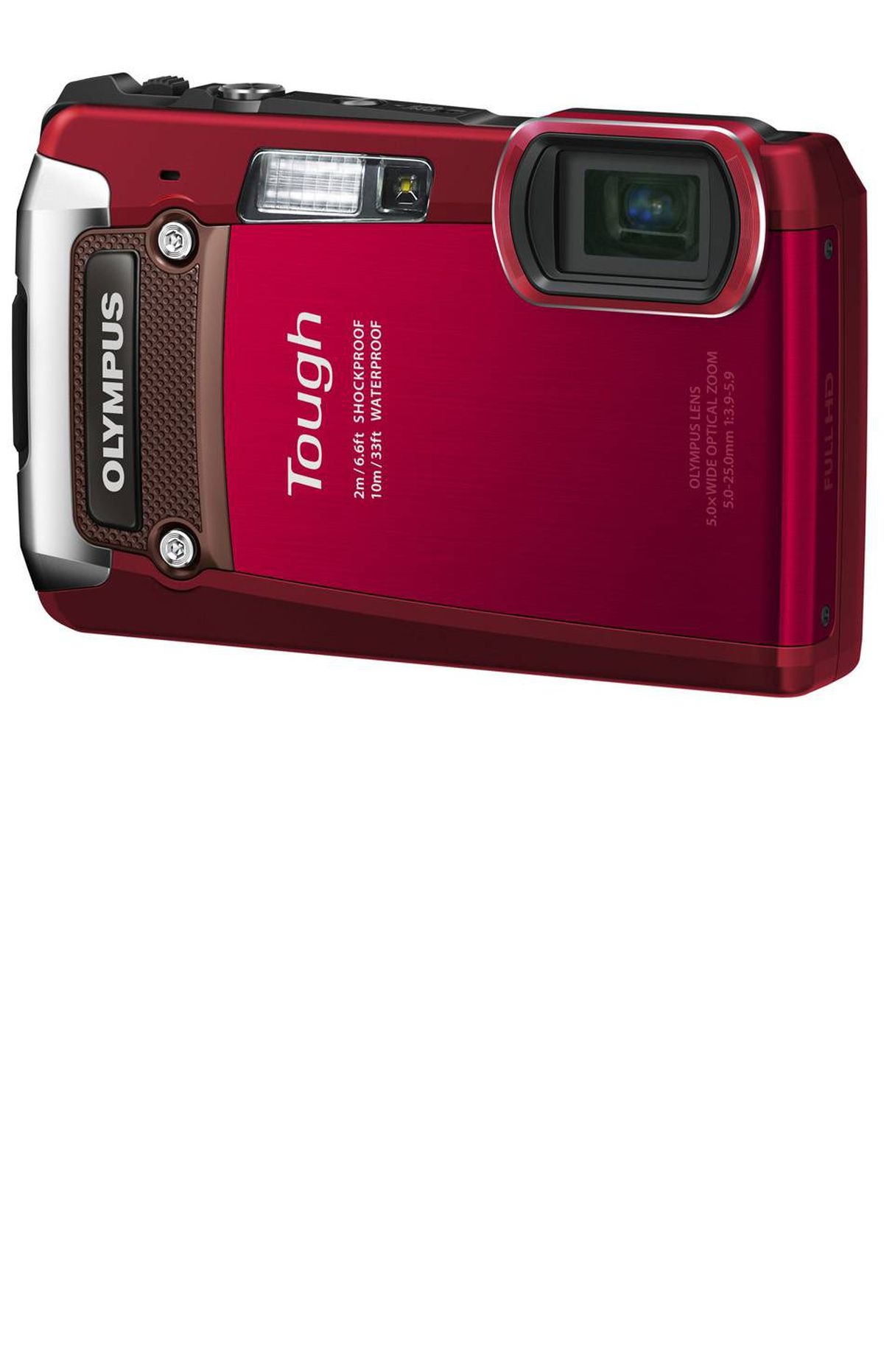 The unbreakable camera Built to endure extreme conditions, the Olympus TG-820 takes the worry out of taking photos on rough waters. The camera can withstand up to 100 kilograms of pressure without getting crushed. It takes 12 megapixel snapshots and HD video as deep as 10 metres underwater. $299.99; olympuscanada.com