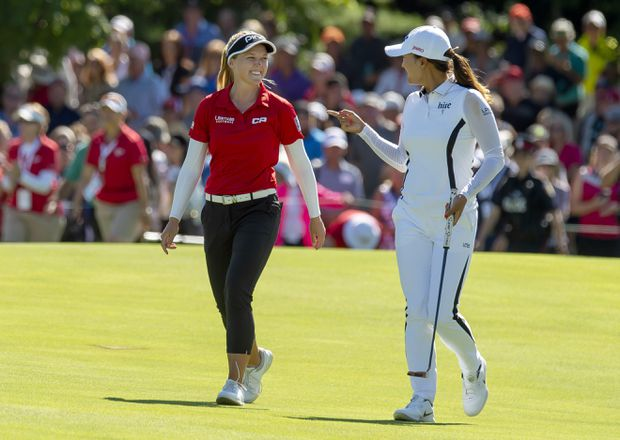 World No. 1 Jin Young Ko spoils Brooke Henderson's hopes of repeating as CP Women's Open golf champion