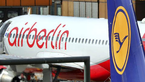 German Airline Lufthansa To Buy Lion's Share Of Air Berlin's Planes
