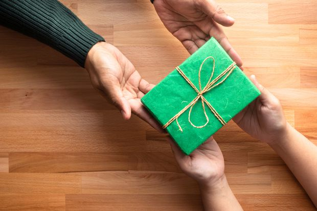 Holiday gift-giving tradition evolving in the financial services industry