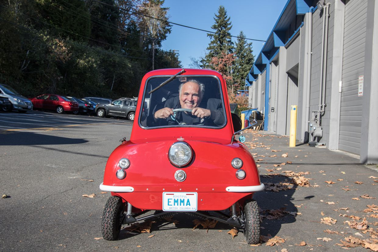 Peel P50, the smallest car ever sold in Canada, is a tiny ride with big memories