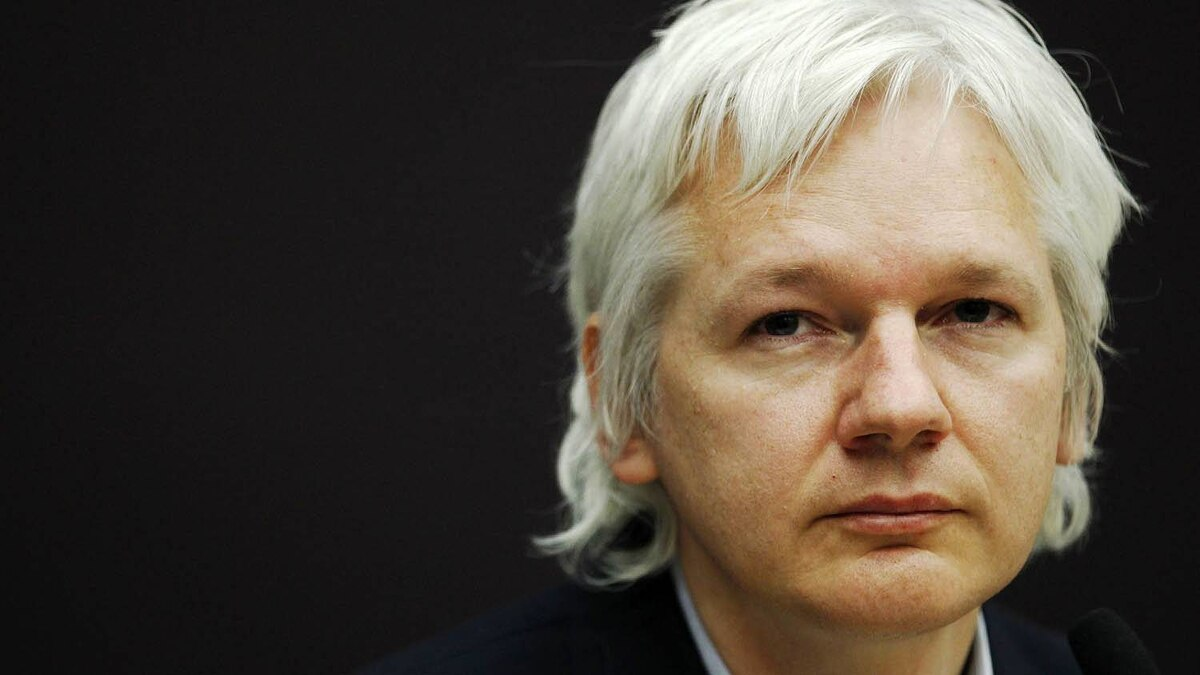 The founder of whistle-blowing website Wikileaks, Julian Assange, attends a news conference at the City University in London Dec. 1, 2011.