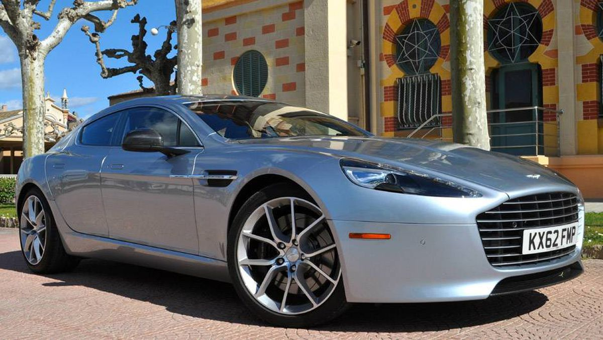 Aston Martin A Stunning Fourdoor Sports Coupe The Globe - Aston martin four door