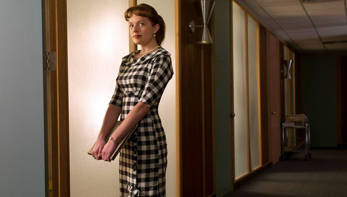 MAD MEN Peggy Olson (Elisabeth Moss)