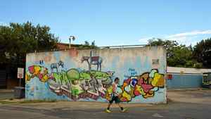 Street art of Villa Crespo, Buenos Aires, Argentina