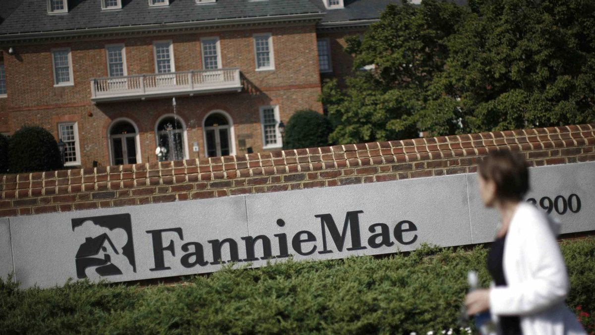 The headquarters of mortgage lender Fannie Mae is shown in Washington Sept. 8, 2008.