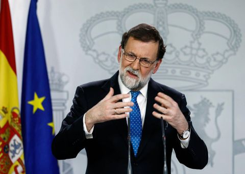 Rajoy Rejects Puigdemont's Request For Talks