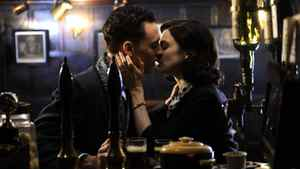 "A puckered-up pub scene from ""The Deep Blue Sea"""
