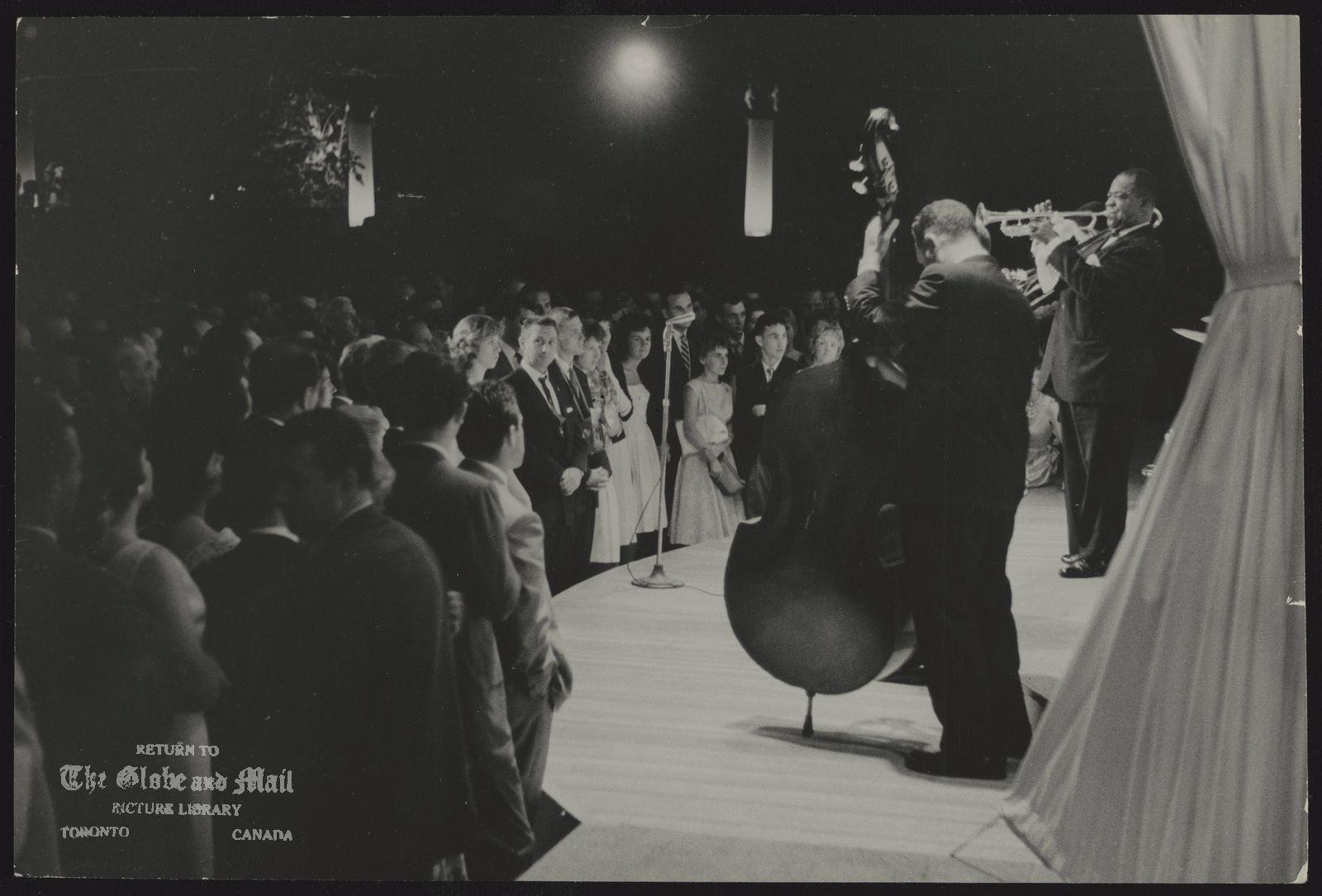 JAZZ Louis Armstrong entertains in Toronto