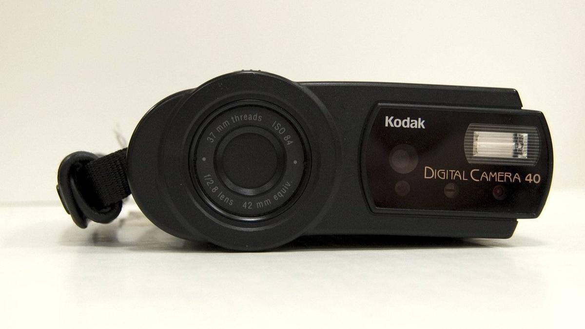 The Kodak Digital Science DC40 produced around 1996, an example of Kodak's consumer-level digital camera offerings.
