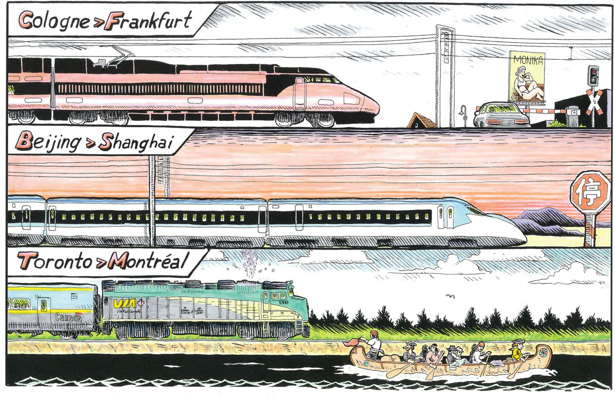 Come on, ride the train: Why Canada needs a national rail strategy