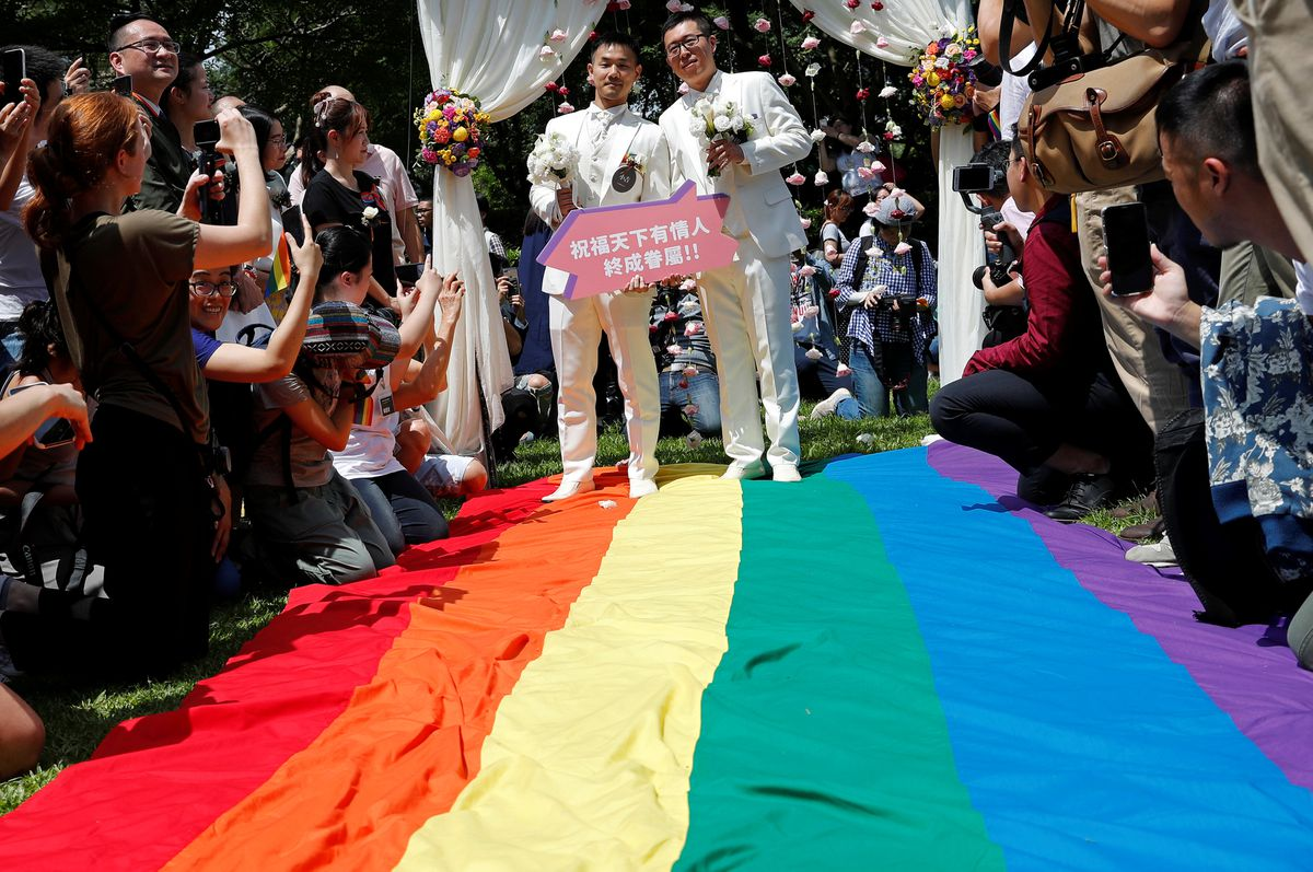 Law to encourage same sex marriage