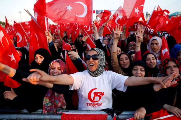 The invasion of Syria is part of Turkey's drive toward a radical new identity 21