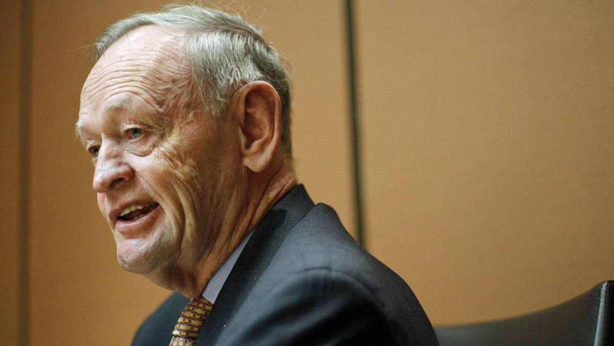 Former prime minister Jean Chretien gives an interview in Ottawa on Nov. 15, 2011.
