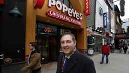 Tough Canadian laws might deter U.S. franchisors looking to head north, says lawyer Larry Weinberg, whose firm represents fast-food chain Popeyes in Canada. Weinberg is seen here Dec. 13, 2011 in Toronto.