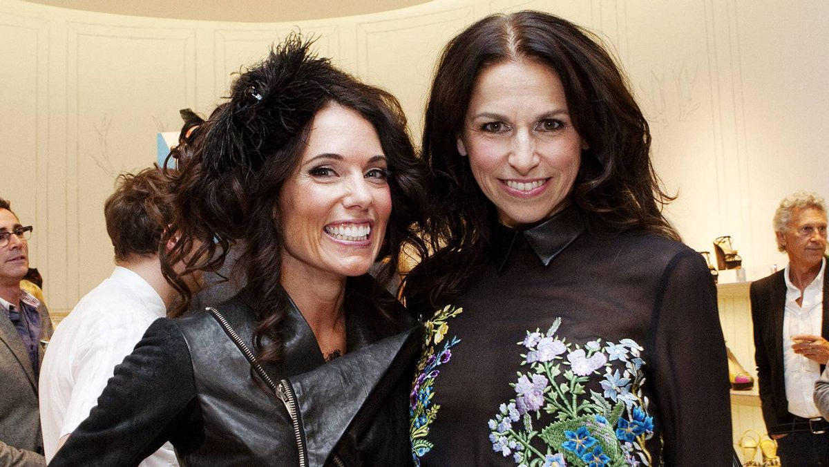Stacey Kimmel (left) and Suzanne Timmins, fashion director at The Bay