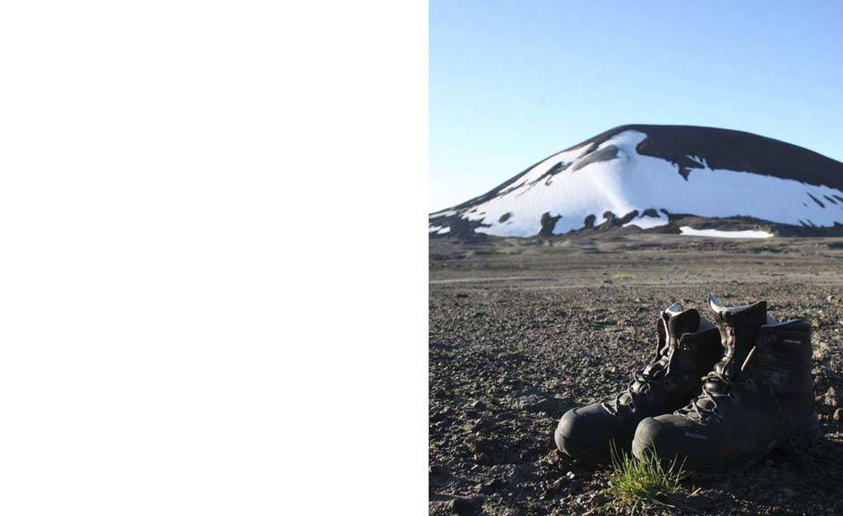 Mount Edziza: a hiker's paradise.
