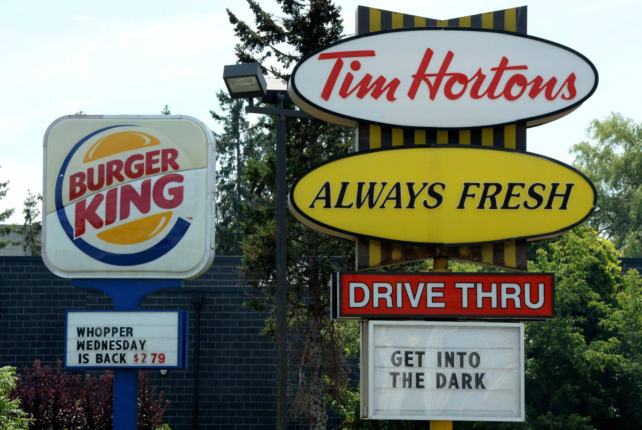 Tim Hortons Burger King Plan App In Latest Push Towards Automation