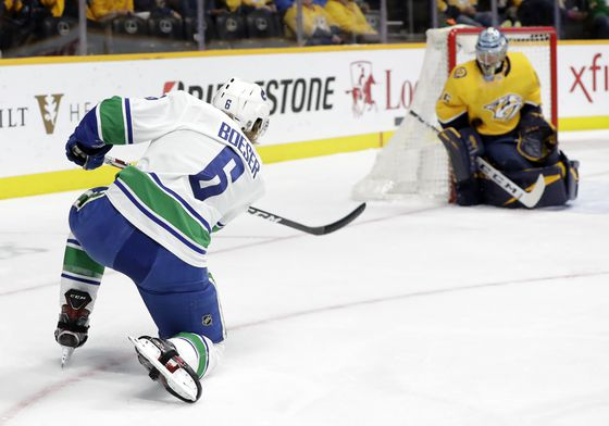 Brock Boeser 'stoked' to be back with Canucks after signing three-year deal
