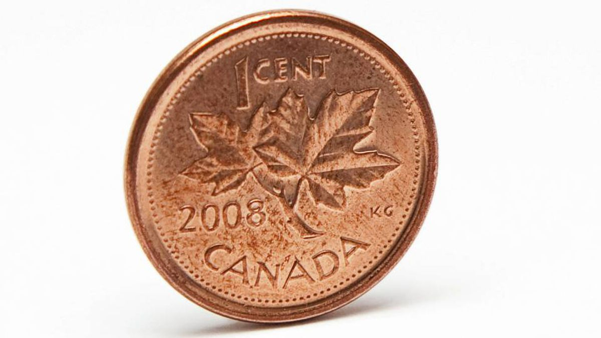 The Canadian penny's days may be numbered.