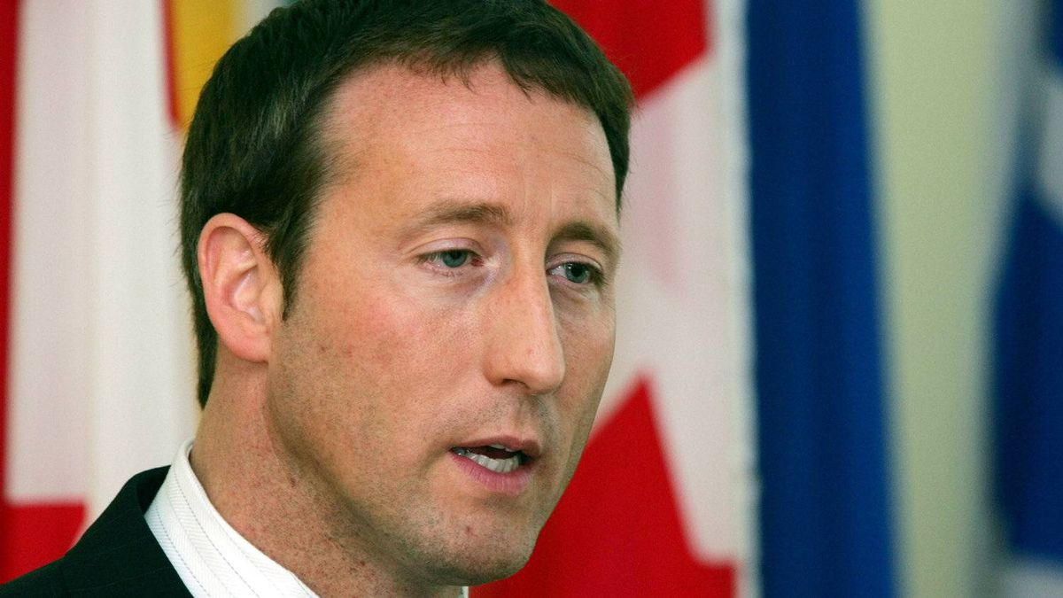 Canada's Foreign Minister Peter MacKay speaks at a press conference in Beijing Monday April 30, 2007.