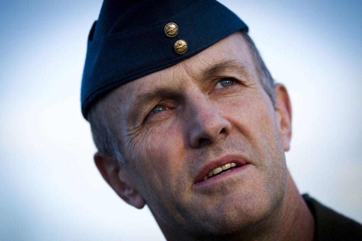 Cold Lake wing commander David wheeler at Cold Lake CFB September 28, 2010.