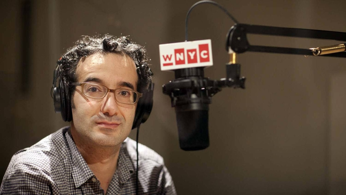 Jad Abumrad in the WNYC Studios