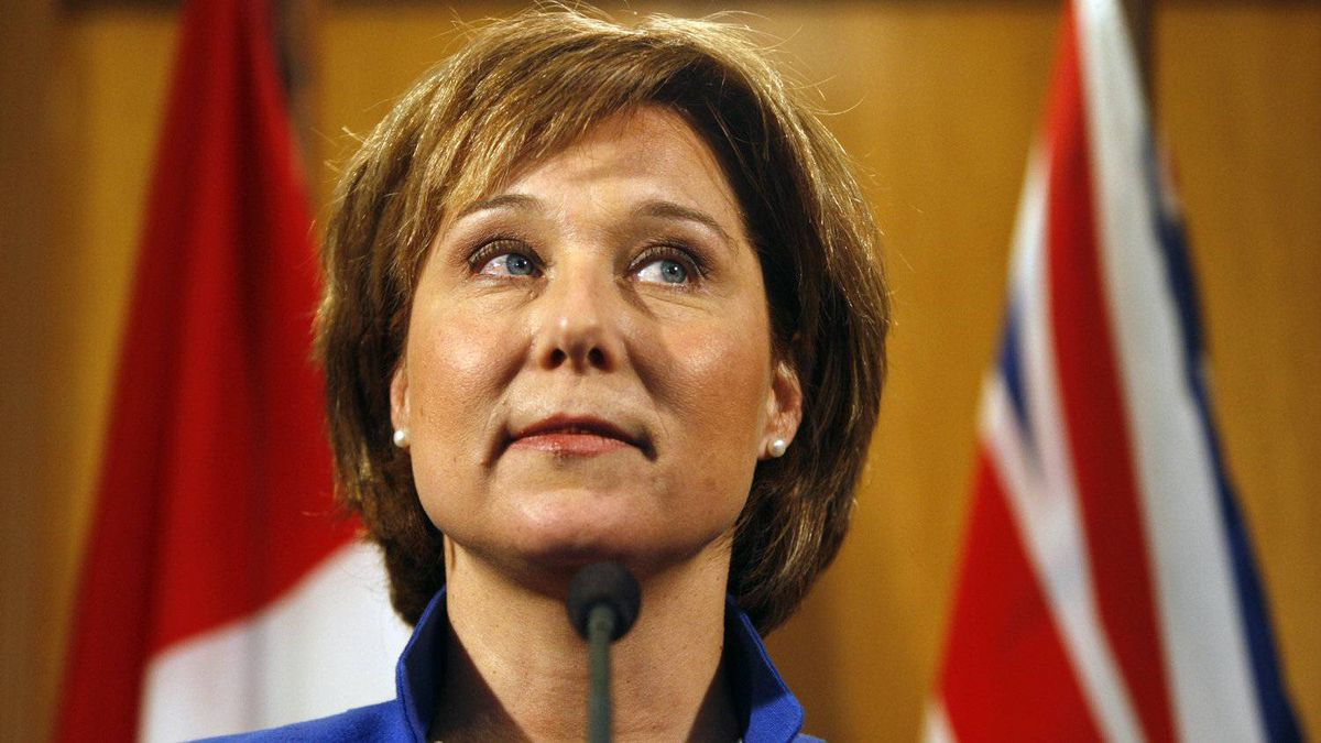Premier Christy Clark, whose officials had initially agreed to the date of the meeting, said Monday she could not attend because she has to be in Victoria to defend the financial operation of her office during a legislature debate.