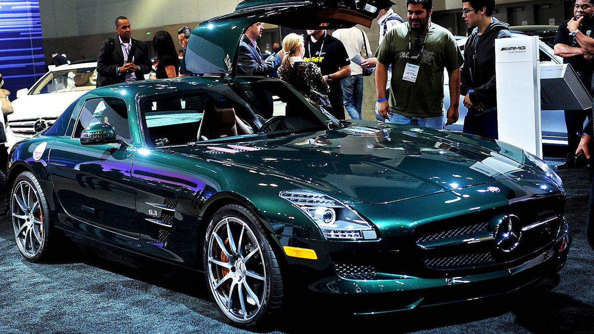 Mercedes-Benz 2012 SLS Coupe AMG