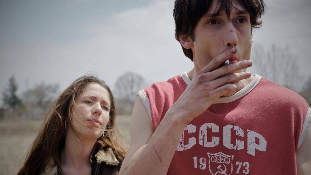 """Shantelle Canzanese and Ryan Ward in a scene from """"Son of the Sunshine."""""""