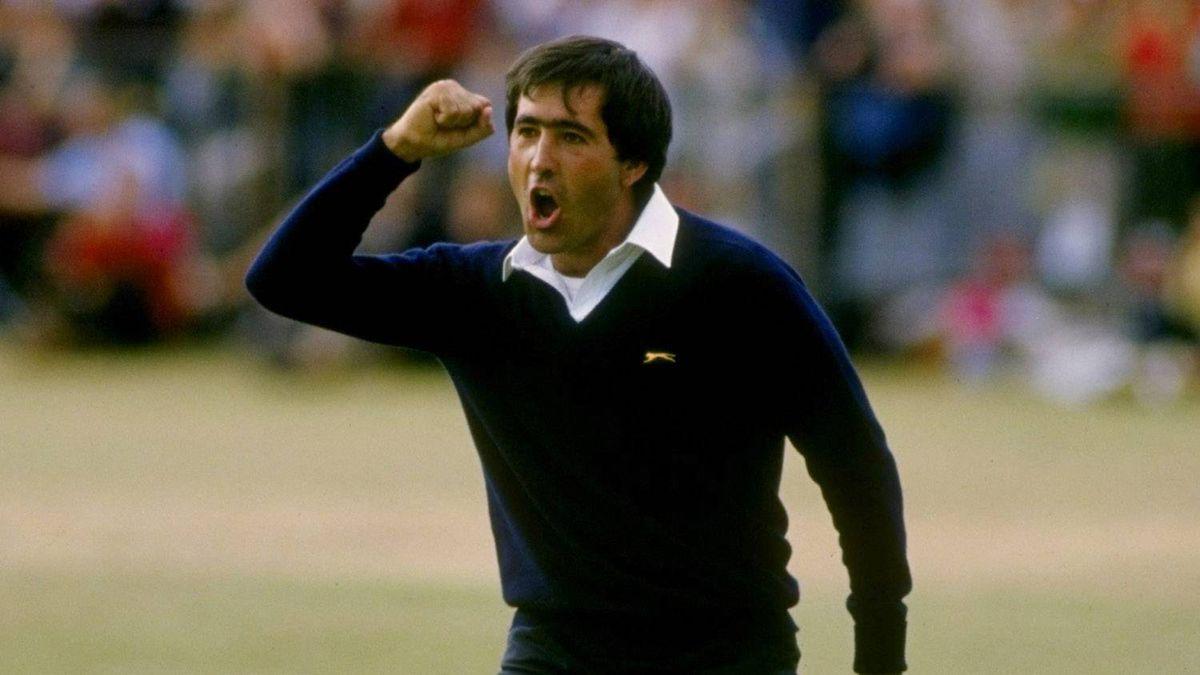 Seve Ballesteros wins the 1984 British Open