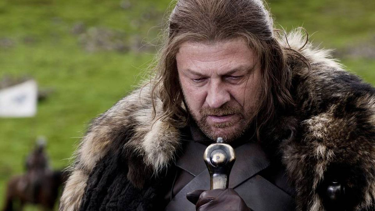 Game of Thrones received an Emmy nod for Best Drama Series. Seen here: Sean Bean portrays Eddard Stark in a scene from the HBO series.