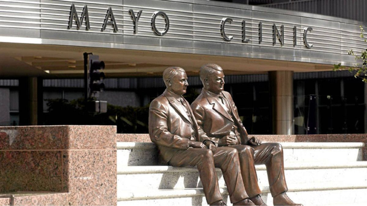 The Mayo Clinic in Rochester, Minn.