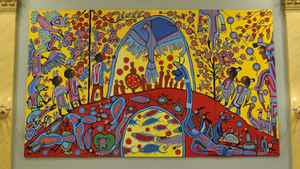 Androgyny, a work by Norval Morriseau