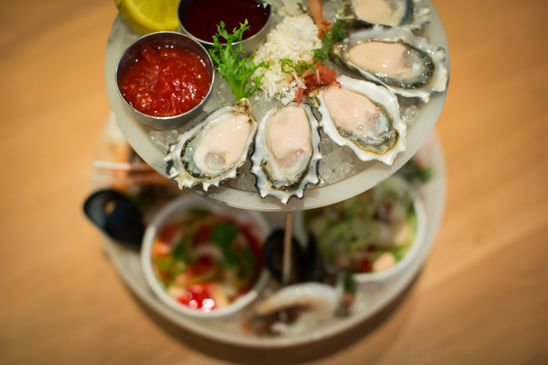 A seafood tower is the quintessential summer dish. These are some of the best in Vancouver