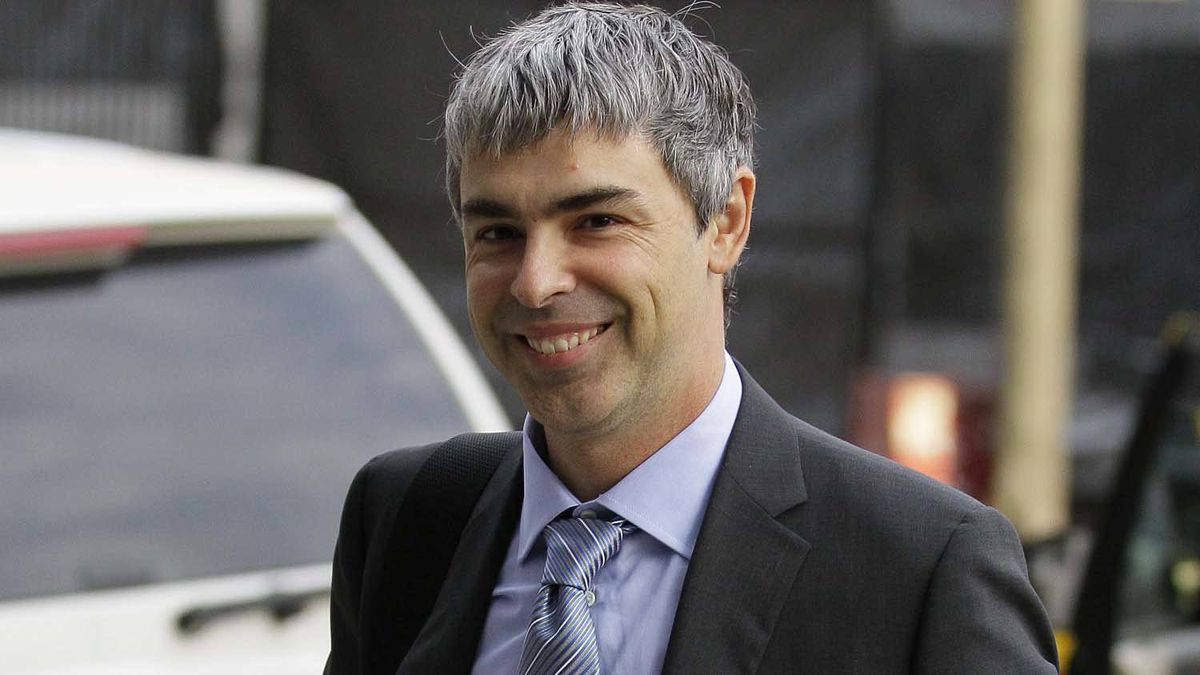 Google CEO Larry Page walks into a federal building in San Francisco, Wednesday, April 18, 2012. Oracle called Mr. Page to the stand Tuesday, and he's to return Wednesday on the third day of the trial.