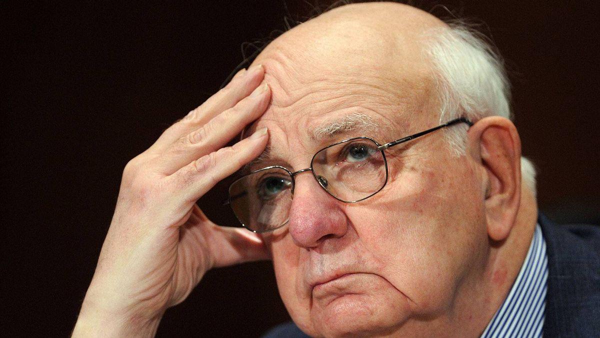 Former Fed chairman Paul Volcker