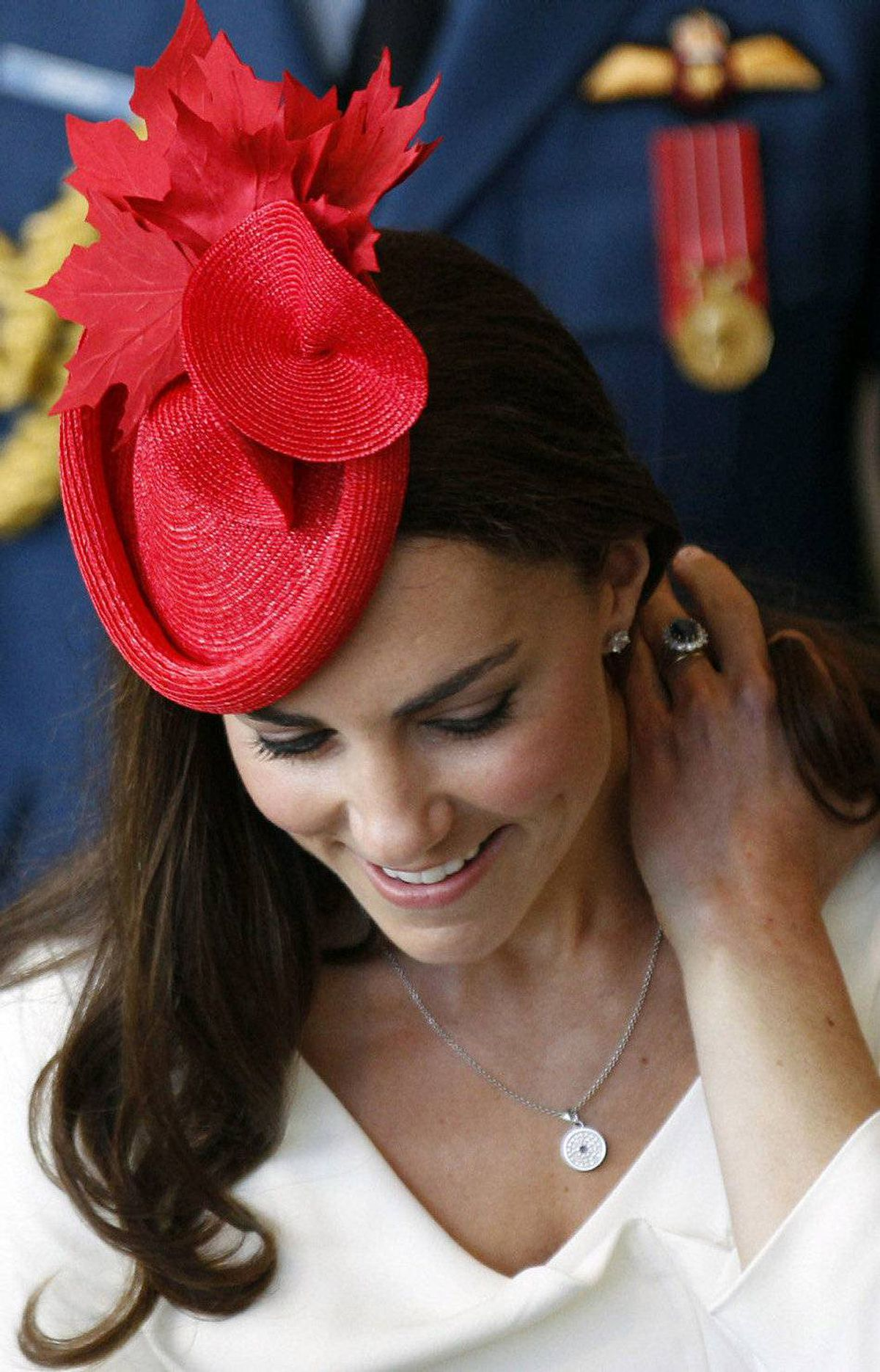 Catherine Middleton, the Duchess of Cambridge smiles following a citizenship ceremony at the Canadian Museum of Civilization in Hull, Quebec near Ottawa July 1, 2011.