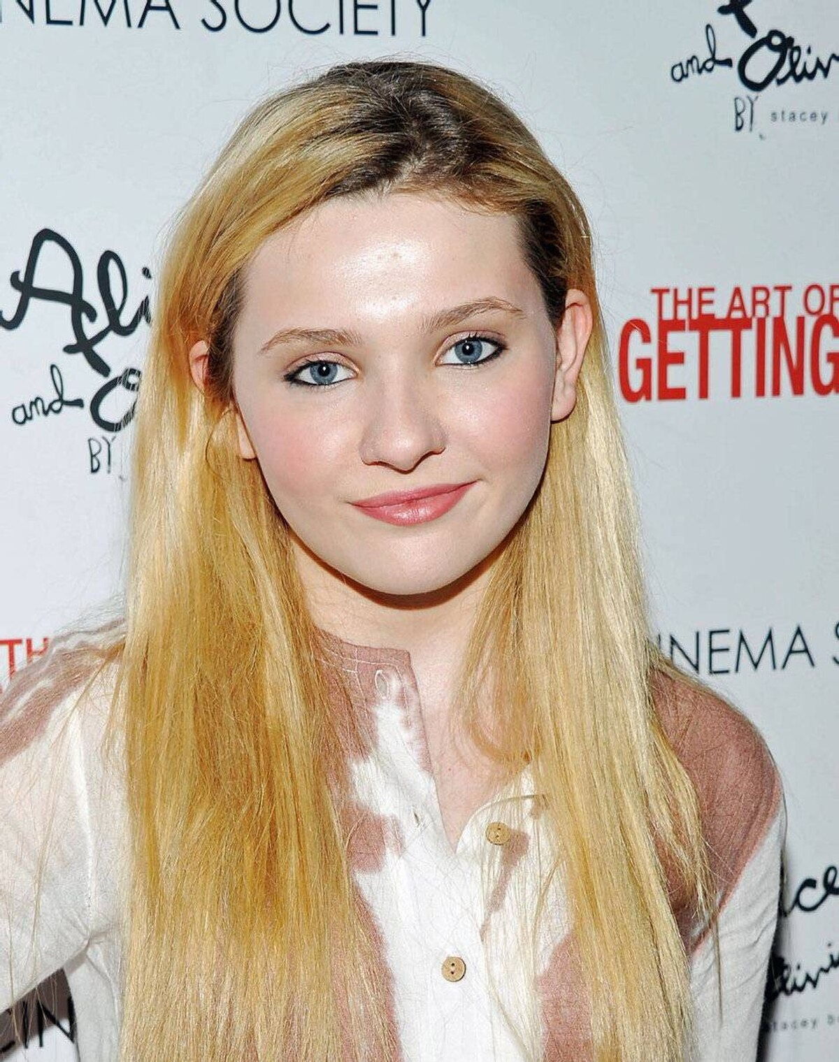 Actress Abigail Breslin attends the after party for the Cinema Society with Alice+Olivia screening of The Art of Getting By at Thompson Hotel LES on June 13, 2011 in New York.