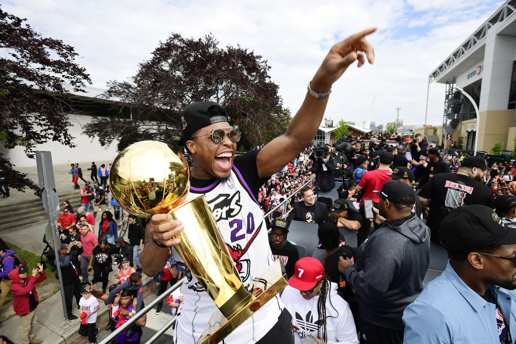 In Photos: NBA Champion Toronto Raptors celebrate historic win with downtown parade