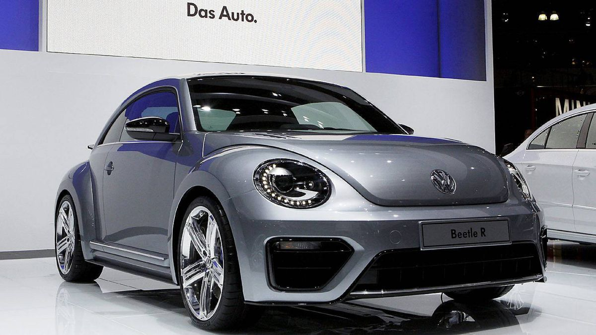 2013 Beetle R concept car