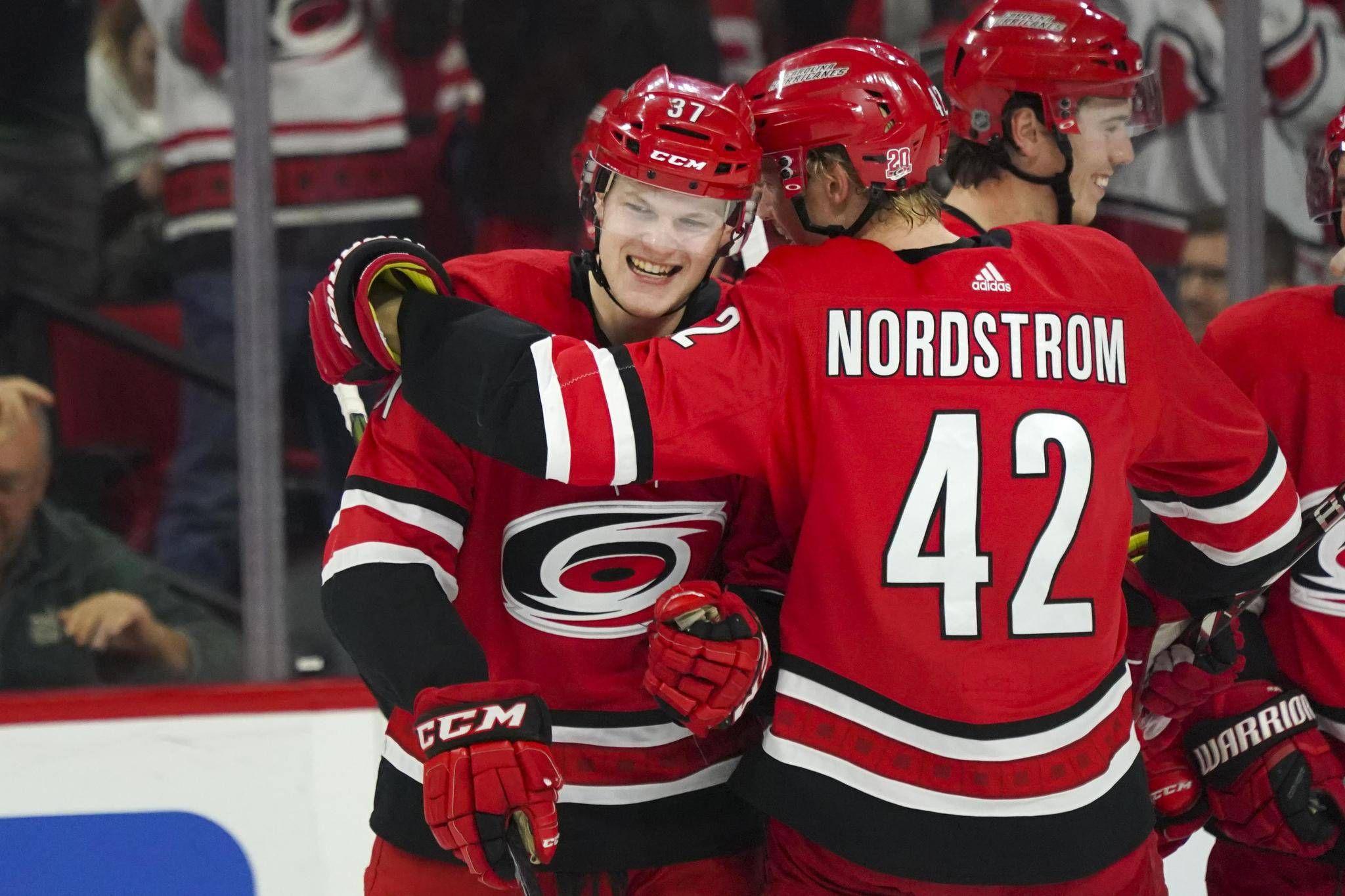 Warren Foegele scores in NHL debut as Hurricanes beat Senators - The ... 4b09b9e32