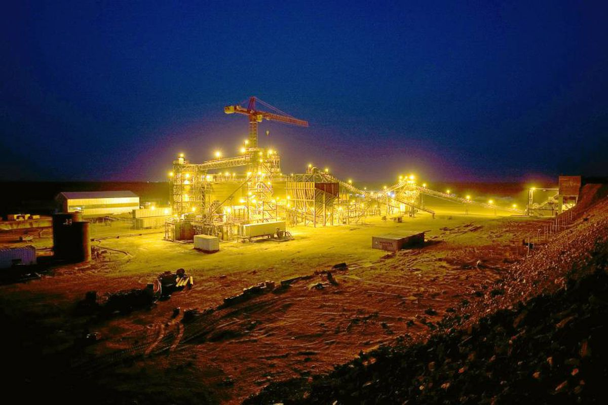 Red Back Mining's Tasiast Gold Mine in Mauritania.
