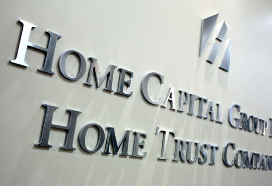 Home Capital says third-quarter profit climbs from year ago, mortgage originations up
